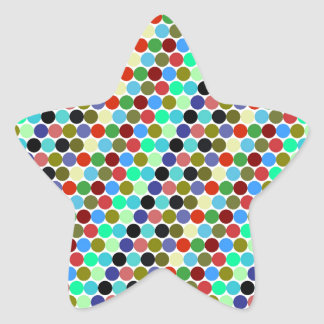 Sample scores star sticker