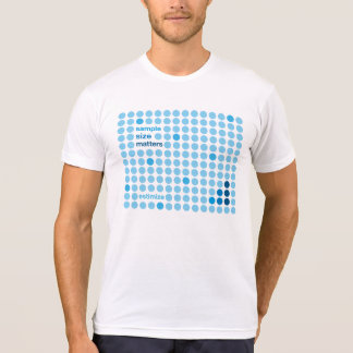 Sample Size Matters - Estimize T-Shirt