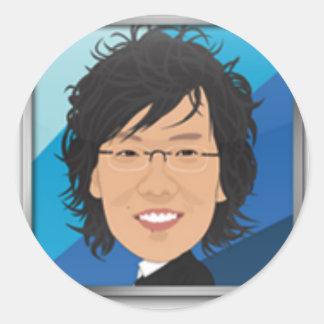 Sample Round Sticker