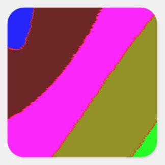 Sample strip pattern stripes square sticker