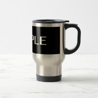 sample travel mug