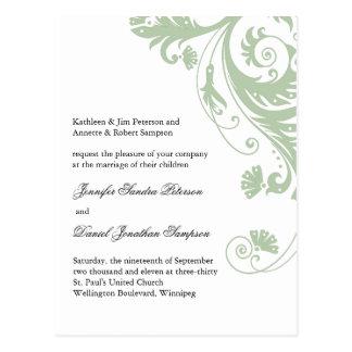 Sample Wedding Postcard for Jen