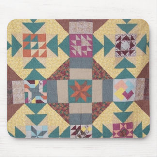 Sampler Quilt Mouse Pad