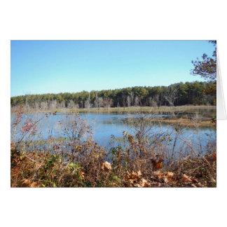 Sams Lake Bird Sanctuary Card
