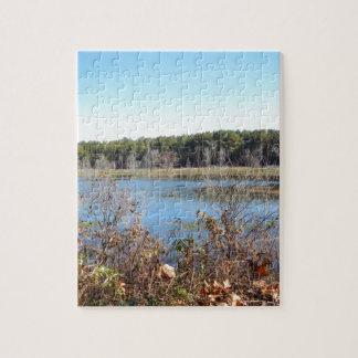 Sams Lake Bird Sanctuary Jigsaw Puzzle
