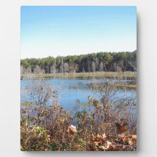 Sams Lake Bird Sanctuary Plaque