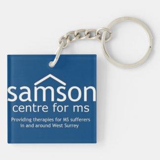 Samson Centre Double Sided Key Chain