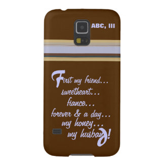 Samsung Galaxy 5 -Forever My Honey My Husband Galaxy S5 Covers