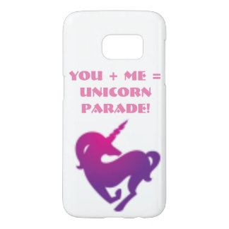 Samsung galaxy 7s cover you + me