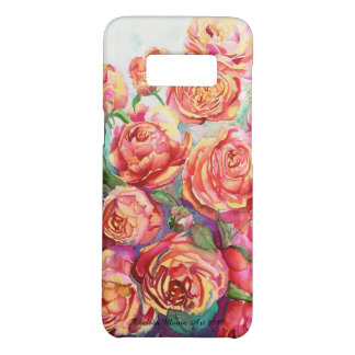 Samsung Galaxy 8 phone case with roses
