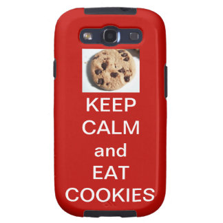 Samsung Galaxy S3 Cookie Phone Case (Red)