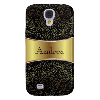 Samsung Galaxy S4 Floral Abstract Damasks