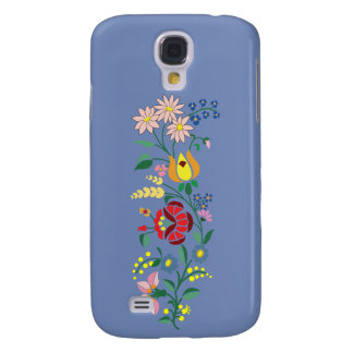 Samsung Galaxy S4- Flower Embroidery