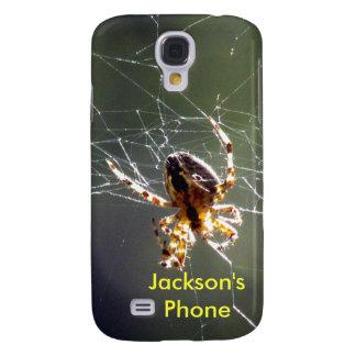 Samsung Galaxy S4 - Spider on Web
