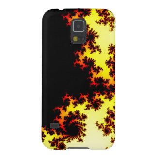 Samsung Galaxy S5 Case - fractal solar flare