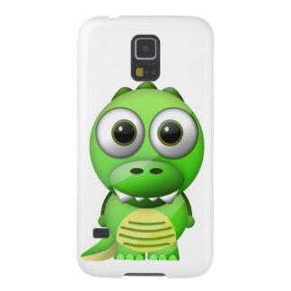 Samsung Galaxy S5 case Funny Crocodile (Glass)