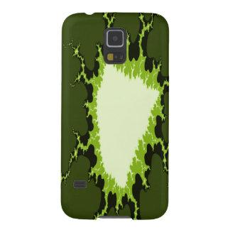 Samsung Galaxy S5 Case - green plasma lightning