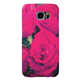Samsung Galaxy s6 Barely There case. Pink roses Samsung Galaxy S6 Cases