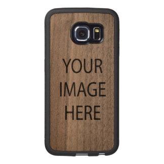 Samsung Galaxy S6 Edge Bumper Walnut Wood Case