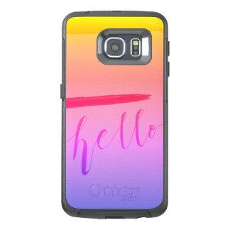 Samsung Galaxy S6 Edge Otterbox Calligraphy Case