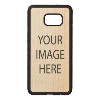 Samsung Galaxy S6 Edge Plus Bumper Maple Wood Case