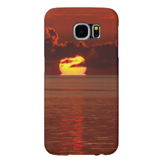 Samsung Galaxy S6 Protective Case - Melting Sunset