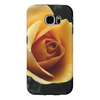 Samsung Galaxy S6, Tough - Gold Rose Samsung Galaxy S6 Cases