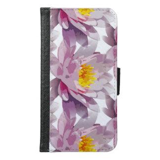 Samsung Galaxy S6 Wallet Case Lotus