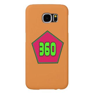 Samsung Galaxy S6 with 360 Logo Samsung Galaxy S6 Cases