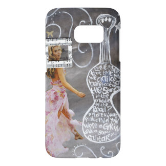 """Samsung Galaxy S7, Barely There Phone Case """"Gypsy"""""""