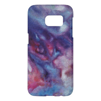 Samsung Galaxy S7, Barely There Phone Case Ice-dye
