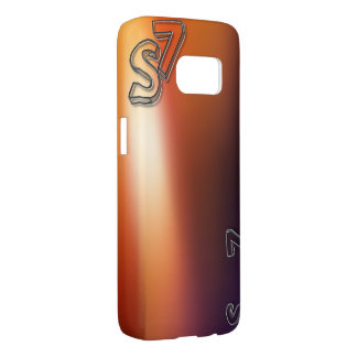 Samsung Galaxy S7, Barely There rmvS7orngrng Samsung Galaxy S7 Case