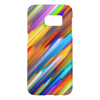 Samsung Galaxy S7 Case Colorful digital art G391