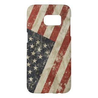 Samsung Galaxy S7 case flag of USA.