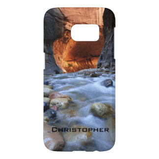 Samsung Galaxy S7 Case, Personalized, Zion Narrows Samsung Galaxy S7 Case