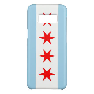 Samsung Galaxy S8 Case with Chicago Flag