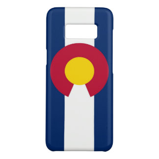 Samsung Galaxy S8 Case with Colorado Flag