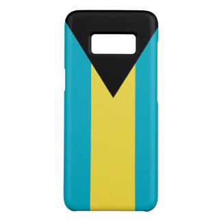 Samsung Galaxy S8 Case with flag of Bahamas