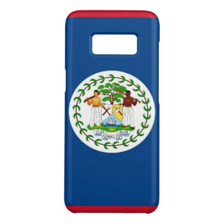 Samsung Galaxy S8 Case with flag of Belize