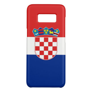 Samsung Galaxy S8 Case with flag of Croatia