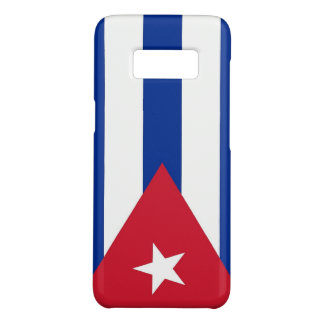 Samsung Galaxy S8 Case with flag of Cuba
