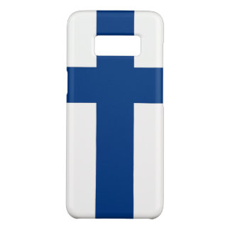 Samsung Galaxy S8 Case with flag of Finland