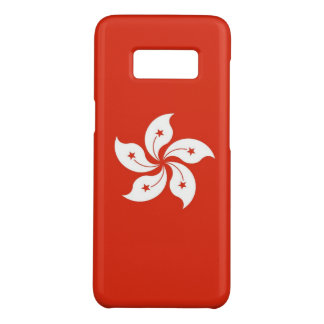 Samsung Galaxy S8 Case with flag of Hong Kong