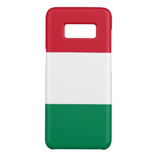 Samsung Galaxy S8 Case with flag of Hungary