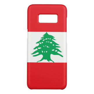 Samsung Galaxy S8 Case with flag of Lebanon