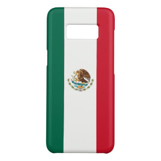Samsung Galaxy S8 Case with flag of Mexico