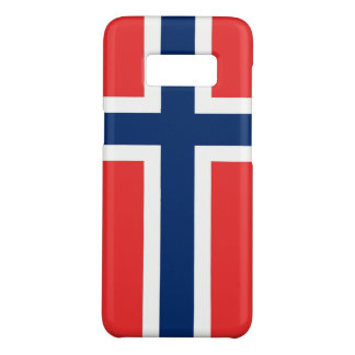 Samsung Galaxy S8 Case with flag of Norway
