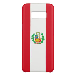 Samsung Galaxy S8 Case with flag of Peru