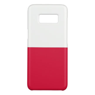 Samsung Galaxy S8 Case with flag of Poland
