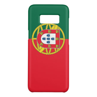 Samsung Galaxy S8 Case with flag of Portugal